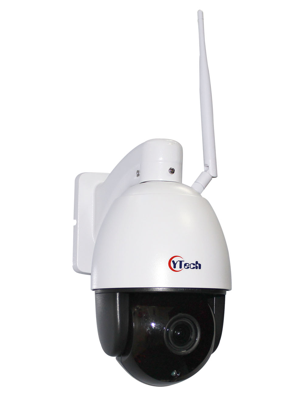 100M IR 2.0M Pixels HD 5X Optical Zoom Wireless Wifi Outdoor Waterproof Dome PTZ IP Camera