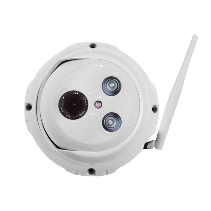 40M IR 2.0M Pixels HD Wireless Wifi Outdoor Waterproof Dome IP Camera