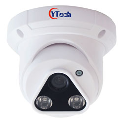 Indoor 30M IR 2.0M Pixel HD-AHD Dome Camera