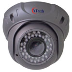 DZAF series IR Waterproof Varifocal Dome Camera