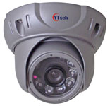 20M IR Waterproof 700TVL HD CCD Dome Camera