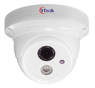 20M IR Waterproof 2.0M Pixel HD-AHD Dome Camera