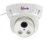 40M IR 1.3M Pixel HD wireless Wifi waterproof outdoor Dome IP Camera