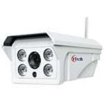 80M IR 2.0M Pixel HD wireless Wifi waterproof outdoor Bullet IP Camera