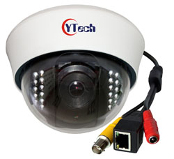 2.0M Pixels IR Dome Network Camera
