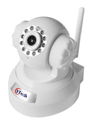 15M IR 1.0M Pixel HD wireless Wifi Intdoor Robot IP Camera